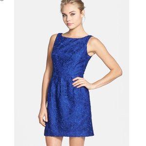 NWOT Aidan Mattox Lace Sheath Dress, size 2.